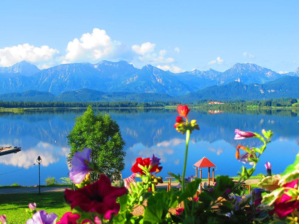 Genießen Sie Ihren Urlaub in Hopfen am See